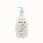 美国 Aveeno baby 艾维诺 婴儿天然燕麦二合一洗发沐浴露 天然配方不刺激(354ml/瓶)