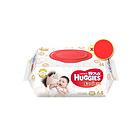 韩国 HUGGIES 好奇 加厚湿巾Premier 64抽(袋装带盖型)给宝宝来自大自然的温柔呵护