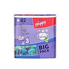 (特卖产品保质期到2017年4月12)贝拉宝贝Bella Baby Happy系列 特级超柔呵护 男女宝宝纸尿裤3号实惠装 82片/包