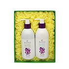 韩国 BOTO ACAI 巴西黑莓洗发护发两件套 超值洗护套装(洗发露300ml/瓶+护发素300ml/瓶)