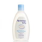 美国 Aveeno 艾维诺 天然燕麦婴儿无泪洗发沐浴液  洗发沐浴二合一 354ml