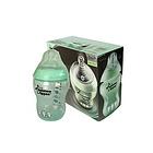 英国 Tommee Tippee 汤美天地 防胀气奶瓶 宽口径新生儿奶瓶 绿色(260ml*2个)