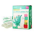 日本 Wakodo 和光堂 婴儿宝宝辅食 高钙鱼米饼 沙丁鱼裙带菜米饼 7个月宝宝辅食两盒装