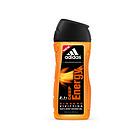 Adidas阿迪达斯 男士沐浴露 能量/天赋/征服型男士沐浴露 洗浴二合一 250ml