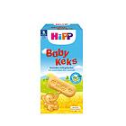 德國 Hipp 喜寶 寶寶零食有機高鈣餅干 寶寶磨牙棒 非膨化 兩盒裝