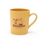 韩国 WowMom 儿童马克杯水杯 环保玉米竹子 儿童餐具 235ml