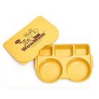 韩国 WowMom 加餐盘餐盒 带盖子的餐盘 卫生又干净 环保玉米竹子
