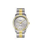 瑞士 TISSOT 天梭机械手表 时尚情侣款 让真爱在时光中沉淀 男士手表 t049.407.22.031.00