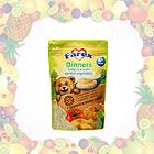 新西兰 Farex 宝宝蔬菜营养辅食 晚餐米糊米粉4+ 110g 两包装