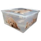 意大利KIS 储物箱连盖 Puppy 008409 – 中  原装进口