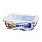 韩国 LOCK & LOCK 乐扣乐扣 长方型玻璃食物盒 LLG448  原装进口
