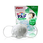 日本 Pigeon 贝亲 儿童立体抗流感花粉过敏防PM2.5口罩 小熊口罩  3枚入