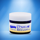 日本JUJU/欧曼诗AQUAMOIST 透明质酸美白啫喱面霜  增强肌肤弹力  50g/瓶