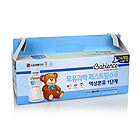 韓國 LG生活健康 貝比恩思液體奶 第一階段(0~6個月) 130ml/瓶(14瓶裝)+奶嘴S號1個