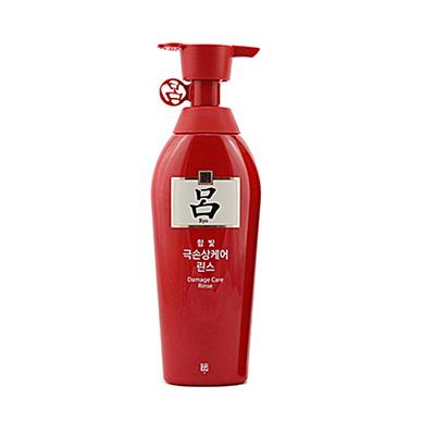 韓國 Amore愛茉莉紅呂護發素 修護受損發質 防止斷發 改善頭部血液循環(400ml/瓶)