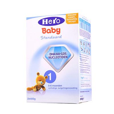 1盒装 荷兰原装进口 美素Friso/Herobaby婴儿奶粉1段 800g
