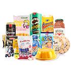 精选全球美食大礼包 12种精美休闲零食 全家人的节日福利 超值健康高  档大礼盒 特产团购节