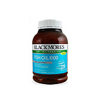 【香港直邮】BLACKMORES 澳佳宝 Fish Oil 深海鱼油软胶囊1000mg 400粒/瓶  新老版本随机发货