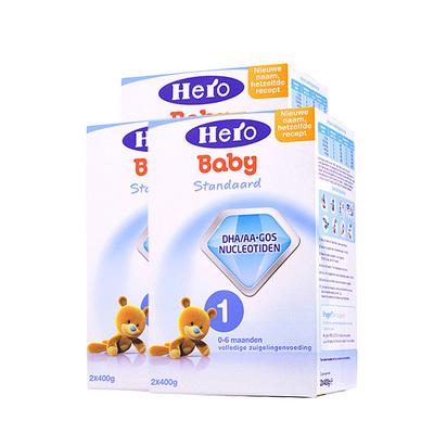 3盒装 荷兰美素Friso/Herobaby婴儿奶粉1段 800g/盒 0-6个月