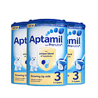英國愛他美新版3段1-2歲進口嬰兒牛奶粉 Aptamil 900g/罐 3罐裝