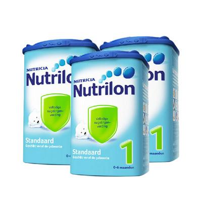 荷兰牛栏Nutrilon本土婴儿奶粉1段 800g/罐  3罐装