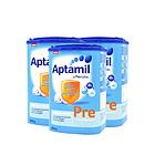 德国新版Aptamil爱他美 婴儿奶粉Pre段800g/罐 0-3个月 德爱3罐装