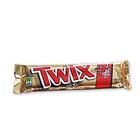 美国Twix/特克斯 大块焦糖巧克力条 高能量美味 办公休闲登山旅游必备小零食 85.6g/包