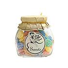 西班牙莎莎的店1886水果糖  草莓形/贝壳形/树叶花瓣形  什锦味150g/罐