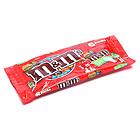 美国玛斯m&m's趣味花生奶油巧克力豆6包装超能美味零食士力架104.3g 3.68oz