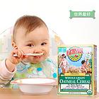 美国 Earth's Best爱思贝 婴儿高铁有机燕麦米粉 2段婴儿辅食(227g*2盒)