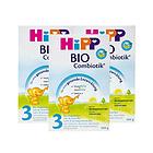 3罐装 德国喜宝HiPP 益生菌Combiotik奶粉 3段(10-12个月)600g/罐