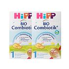 德国喜宝HiPP 益生菌Combiotik奶粉 1段(0-6个月) 600g/罐 2罐装