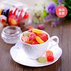 德国嘉爵什锦水果味硬糖  多种水果味  满足你的味蕾糖果 300g/瓶