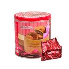 马来西亚DAILS  迪乐司巧克力酱夹心曲奇饼干 香浓酥脆 办公休闲零食 300克/罐