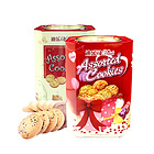 马来西亚DAILS  迪乐司曲奇饼干 什锦味/多口味 高档铁盒装 办公休闲零食 节日送礼 600g/罐