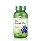 美国GNC健安喜 越橘精华胶囊60mg 预防近视 保护眼睛营养保健品 100粒/瓶 保质期到17.12