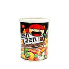马来西亚印象牌东方什锦豆(花生、青豆)香脆可口 办公休闲小零食 120克/罐