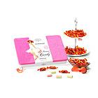 莉莉玛莲水果软糖  综合水果口味 粉色礼听 糖果礼盒120g 360g/盒