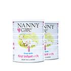 英国Nannycare婴幼儿羊奶粉1段 0-6个月宝宝适用 接近母乳的奶粉  900g/罐