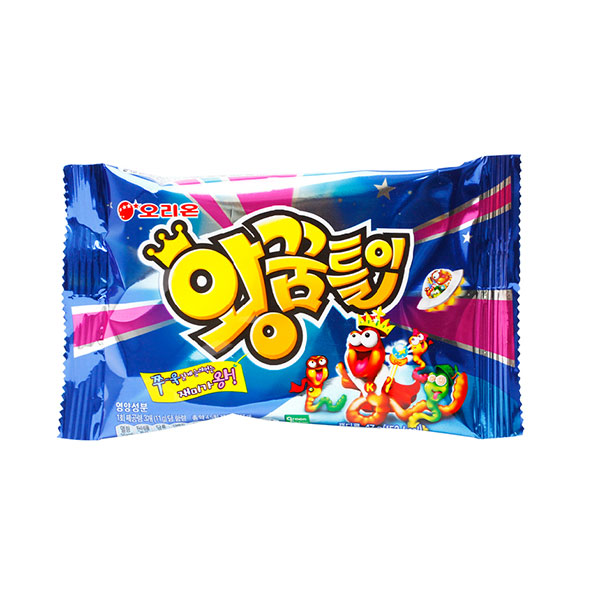 好丽友果味小蛇QQ糖,我选择它的四个强大理由:富含维生素群和胶原蛋白,营养充足;多种水果味道,清香酸甜,嗅觉与味觉同时满足;萌萌哒的虫虫造型,又有童趣有可爱;低胆固醇,不含脂肪易消化,添加木糖醇,所以它是健康的糖果,不用担心长蛀牙哦!
