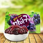 韩国好丽友葡萄QQ糖 橡皮糖 软糖 葡萄形状 美味有嚼劲 46g/袋