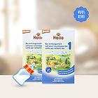 德國Holle凱莉泓樂有機奶粉1段  適合0-6個月寶寶 營養豐富 兩盒裝 400g/盒*2