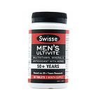 Swisse 50+老年男士复合维生素片 护心保肝 增强免疫力  90片/瓶