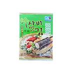 韩国如松即食海苔 低盐加钙休闲零食 美食 芥末/竹盐/百年草3种口味 25g*5包/袋