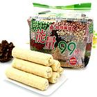 香酥美味的北田能量99棒 蛋黃/南瓜/巧克力 三種風味夾心 必備小零食 180g/袋