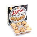 皇冠丹麥Danisa原味曲奇餅干 優質黃油餅干休閑零食 163g/盒