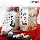 韩国高铁男大长今系列红参沙琪玛 蜜桔巧克力/黑巧克力 两种口味 250g*5/盒
