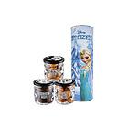 迪士尼卡通冰雪奇缘主题饼干曲奇  Adventure Cookie 存钱罐 米奇老鼠艾尔莎 安娜 奥拉夫 克里斯多夫 多角色储蓄桶零食 300g/桶