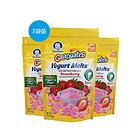 3包裝 美國 Gerber嘉寶 水果酸奶溶豆 寶寶零食 天然嬰兒零食 草莓味/混合味(28g/包*3)混合味