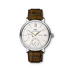 瑞士万国IWC柏涛菲诺男表系列IW510103手动上链8日动力储备银色表盘男士腕表